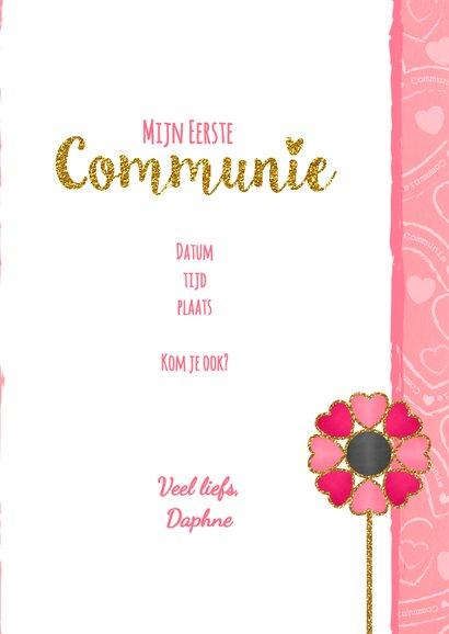 Communie lief, roze en glamour S 3