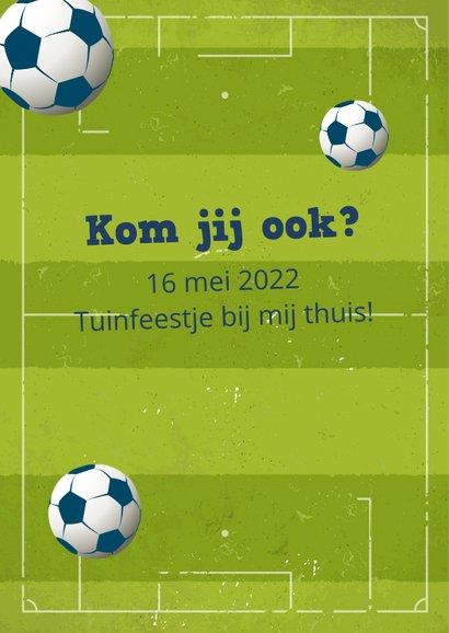Communie uitnodiging voetbal 2