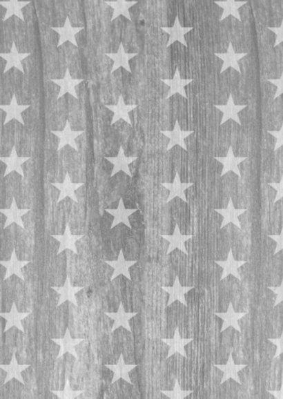 Communiekaart sterren hout foto's 2