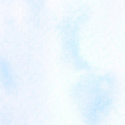 Condoleance - bloem waterverf blauw 2