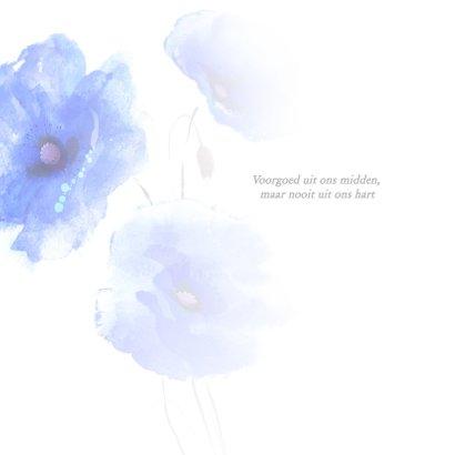 Condoleance - bloemen oprechte deelneming 2