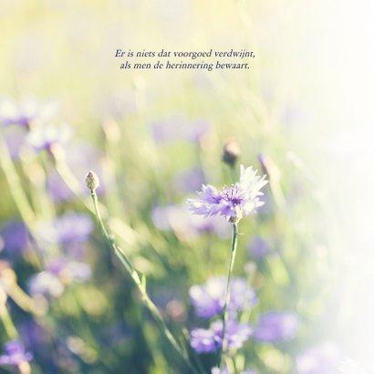 Condoleance - bloemen veel sterkte  2