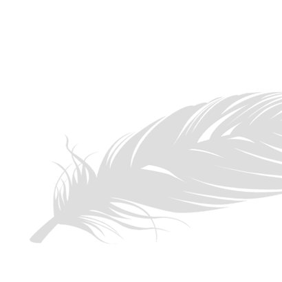 Condoleance kaart - wij denken aan jullie 2