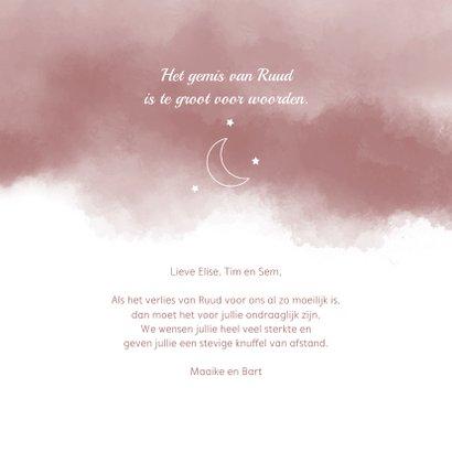 Condoleance Tot de maan en terug 3