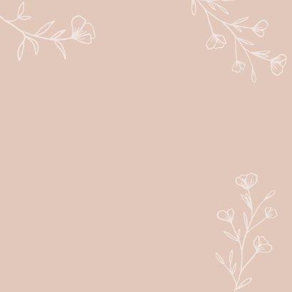 Condoleance - veel sterkte roze bloemen 2