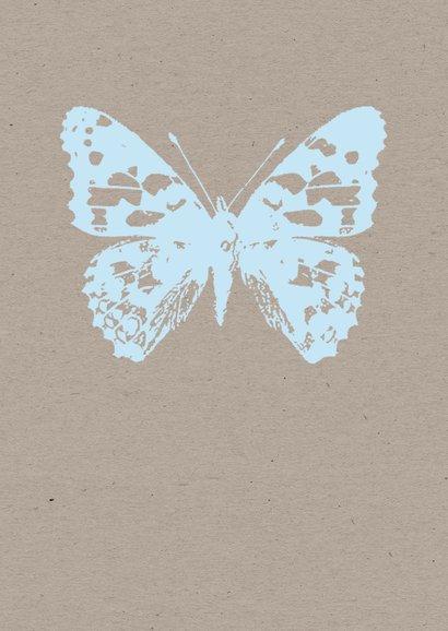 Condoleance - Vlinder op kraft 2