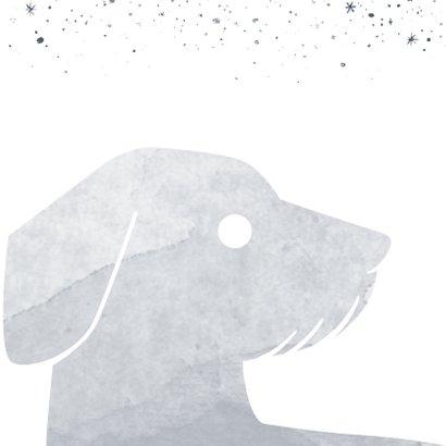 Condoleancekaart hond  2