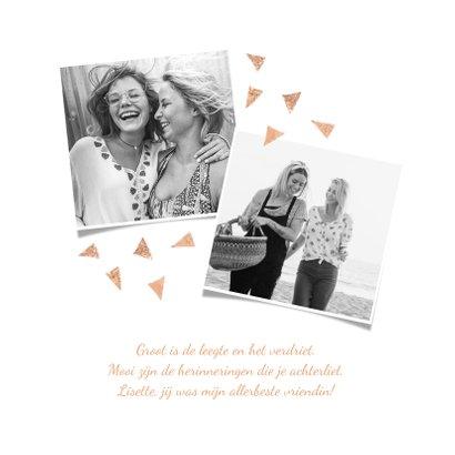 condoleancekaart in gedachten sterkte herinneringen foto's 2