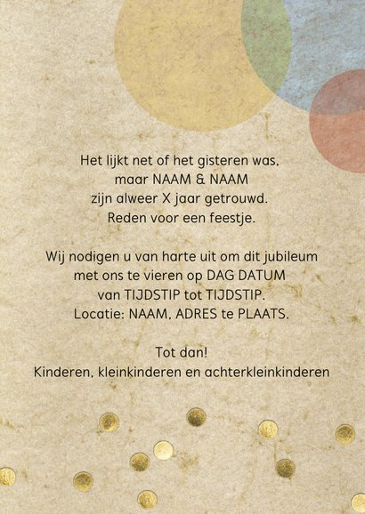 confetti uitnodiging feest  3