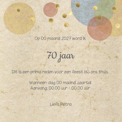 confetti uitnodiging verjaardagsfeest  3