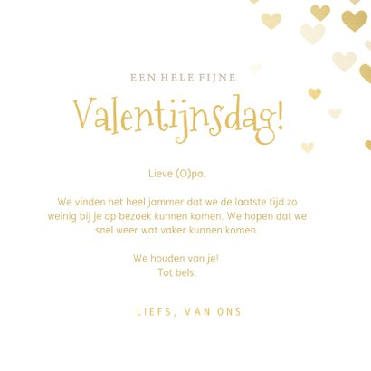 Corona Valentijnskaart - papieren kus door de brievenbus 3