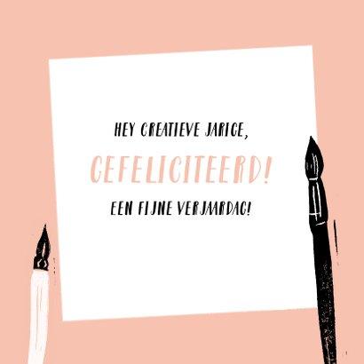 Creatieve verjaardagskaart 3