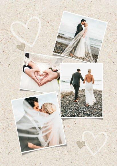 Dankeskarte zur Hochzeit Wegweiser Sommerfeeling 2