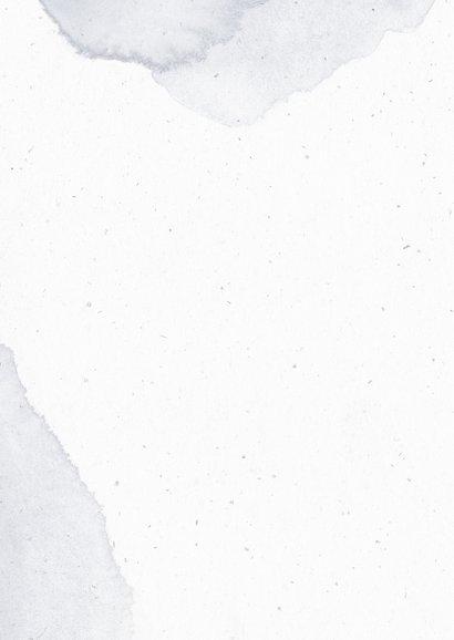 Dankeskarte zur Taufe mit Mond Fotocollage Rückseite