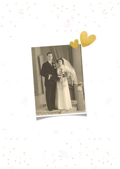 Danksagung Hochzeitsjubiläum 3 Fotos 2