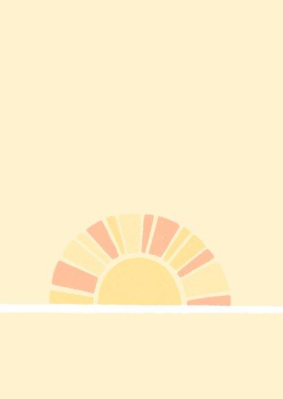 Danksagung zur Einschulung Sonne und Regenbogen 2