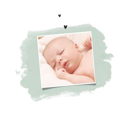 Danksagung zur Geburt Entenküken Foto Innenseite 2