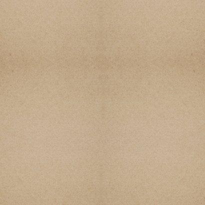 Danksagung zur Geburt Leopardenprint Kraftpapier Foto innen Rückseite