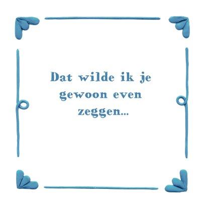 Delfts Blauwe Onweerswolk 3