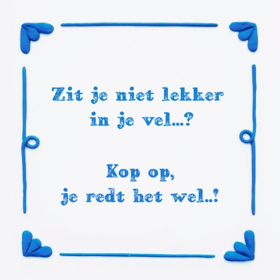 Delfts Blauwe Opkikkertje 3