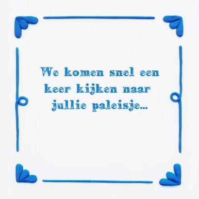 Delfts Blauwe Slakkenwoning 3