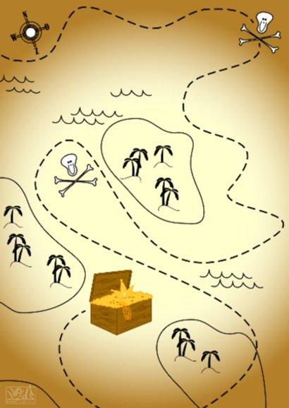Deurhanger piraat uitnodiging 2