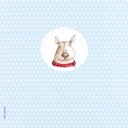 Dierenkaart - hoera jullie hebben een hond 2