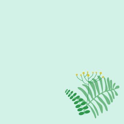 Dierenkaart luiaard in het oerwoud 3