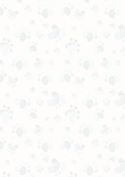 Dierenkaart uitnodiging voor oppas hond 2