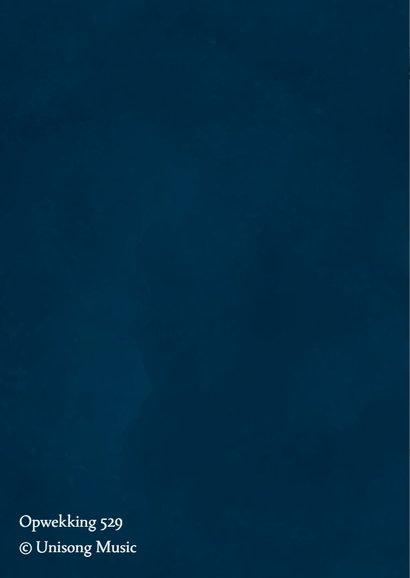 Donkerblauwe kerstkaart Opwekking 529 2
