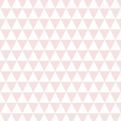 Driehoekjes met tekst, roze 2
