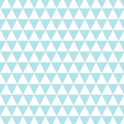 Driehoekjes, tekst, blauw 2