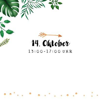 Dschungel-Einladung zum Kindergeburtstag 2