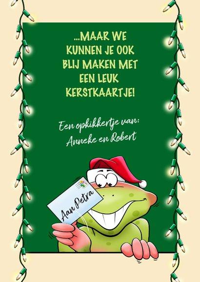 Een beterschapskaart voor rond de feestdagen, opkikkertje 3