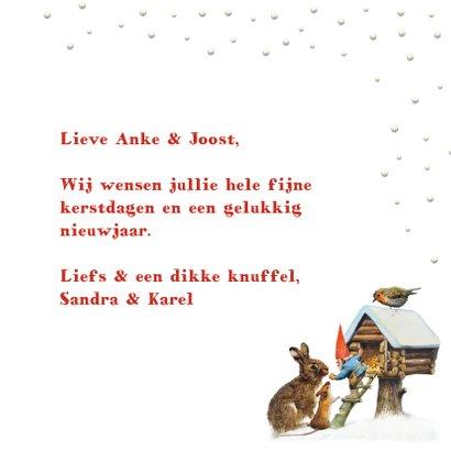 Een kerstknuffel en een dikke kus van de kabouter 3