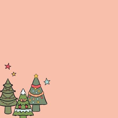 Een kerstkus door de brievenbus - kerstkaart 2