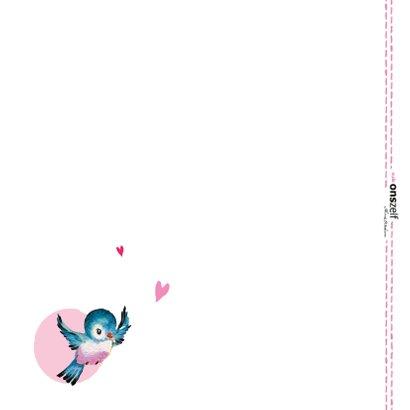Een lief, roze berichtje aan jou! Omdat ik aan je denk. 2