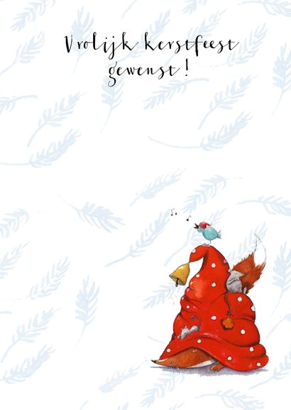 Een vrokijke kerst met vos 3