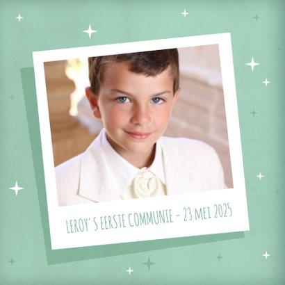 Eerste communie fotokaart collage  2