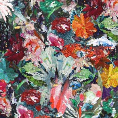 Eigen tekst bloemen kleurrijk 2