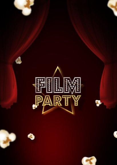 Einladung Filmparty Kindergeburtstag mit Foto 2