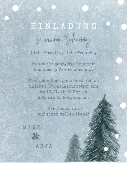 Einladung Geburtstag Winterparty 3