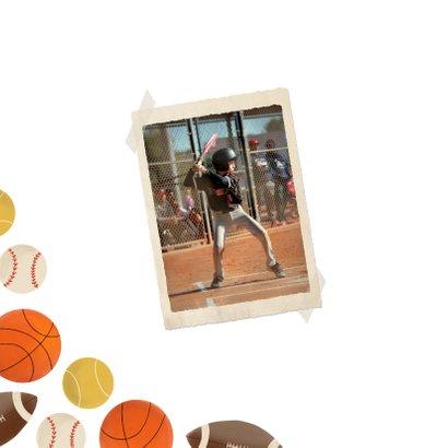 Einladung Kindergeburtstag Ballsport Foto innen 2