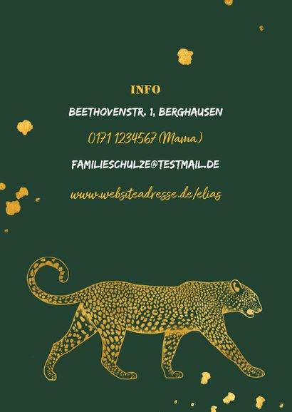 Einladung Kindergeburtstag Foto & Leopard 2