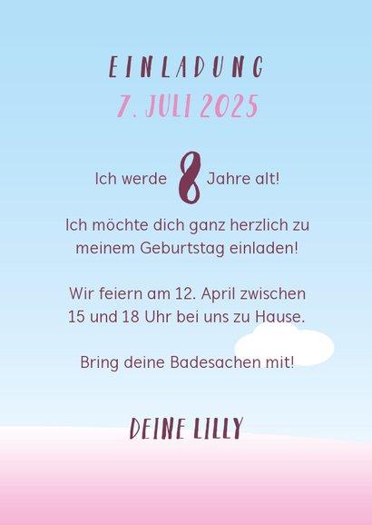 Einladung Kindergeburtstag Icecream Party 3