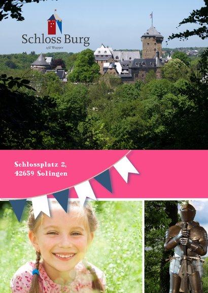 Einladung Schloss Burg Wupper blau-rosa 2