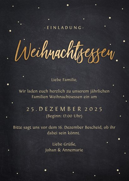 Einladung Weihnachtsessen Besteck-Weihnachtsbaum 3
