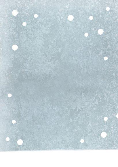 Einladung Winter-Kindergeburtstag Schlitten Rückseite