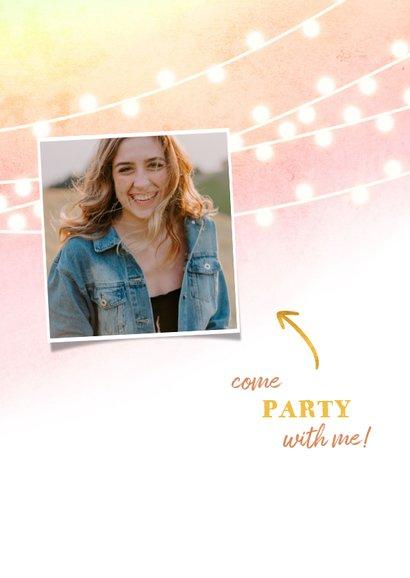 Einladung zum 21. Geburtstag mit Foto 2