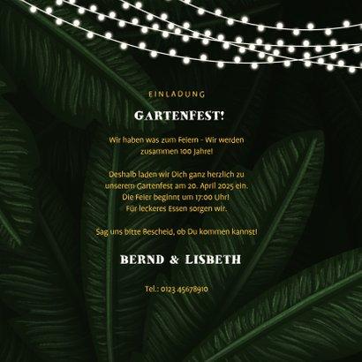Einladung zum Gartenfest Doppelgeburtstag  3